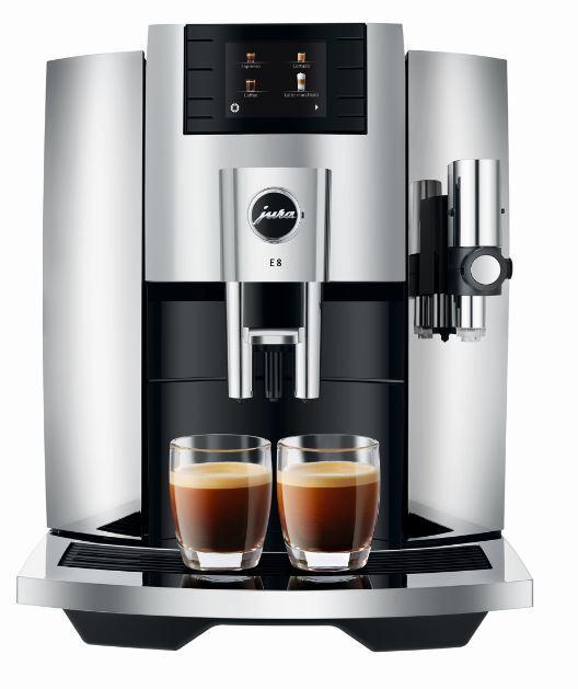 Jura E8 Coffee Machine - Silver - 15363
