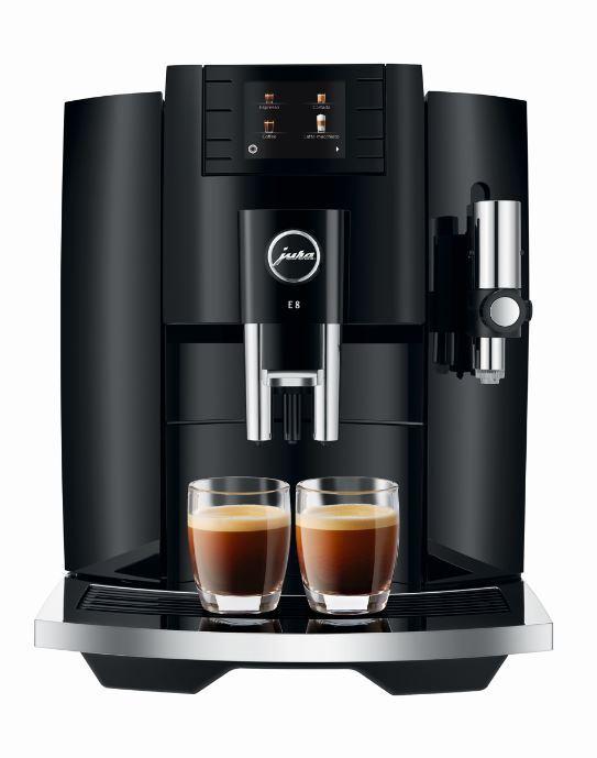 Jura E8 Coffee Machine - Black - 15372