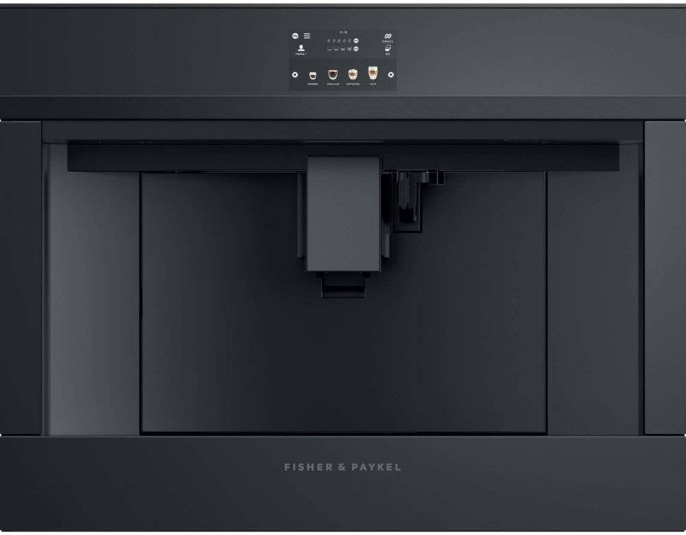 Fisher & Paykel Series 9 EB60DSXBB1 Built In Coffee Machine - Black - A Rated - 81922