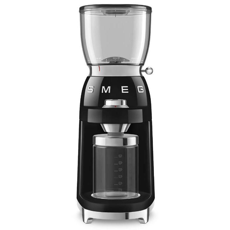 Smeg Retro Coffee Grinder - Black - CGF01BLUK