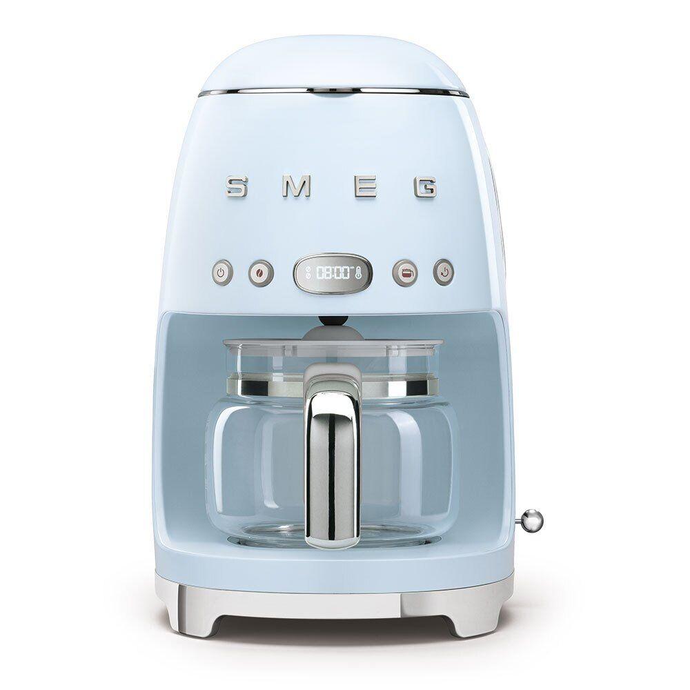Smeg Retro Coffee Machine - Blue - DCF02PBUK