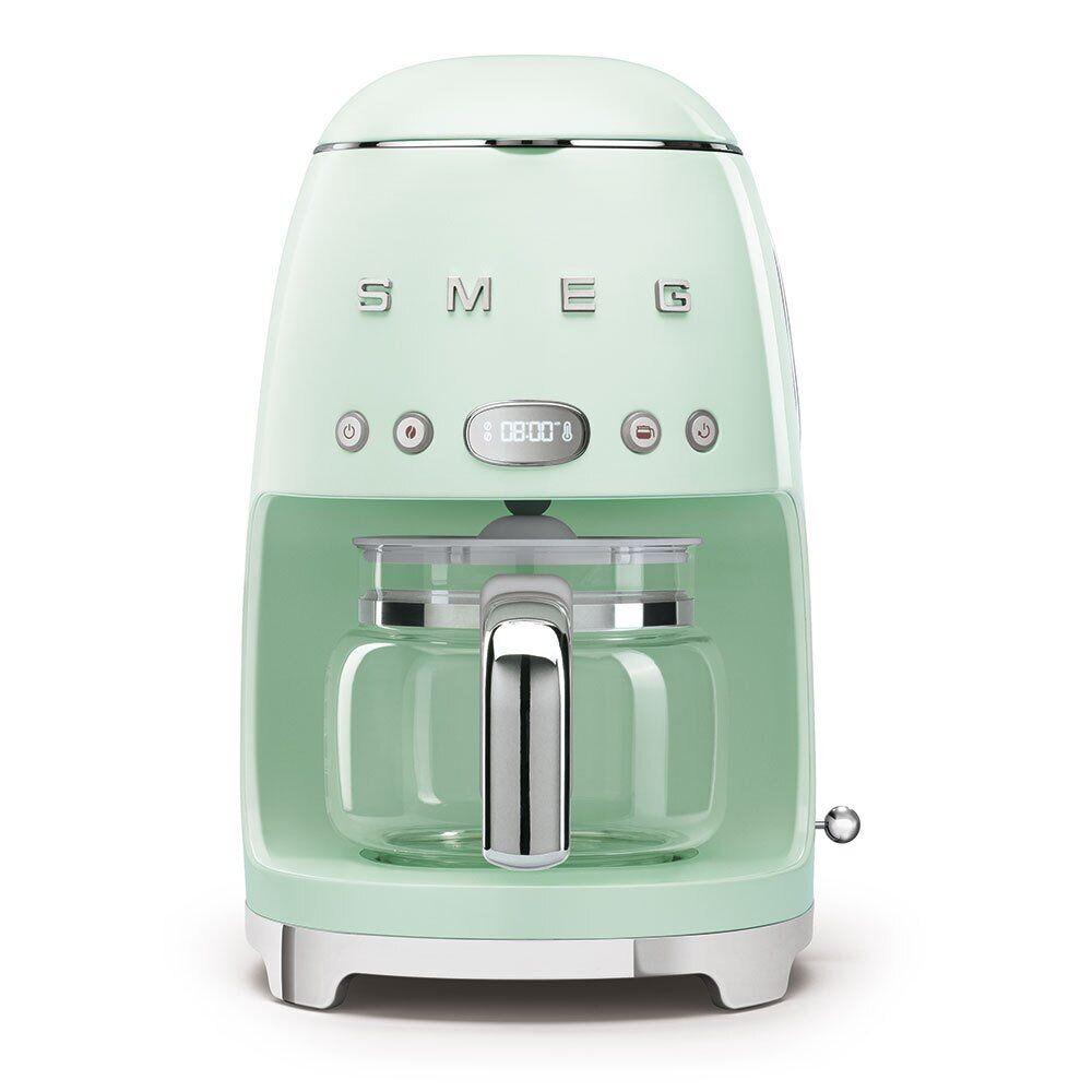 Smeg Retro Coffee Machine - Green - DCF02PGUK