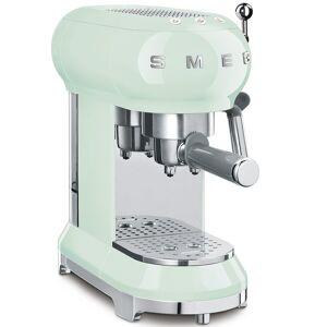 Smeg Retro Espresso Coffee Machine - Green - ECF01PGUK