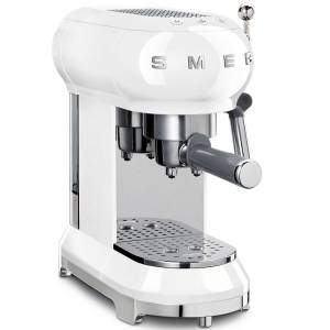 Smeg ECF01WHUK Espresso Coffee Machine - White