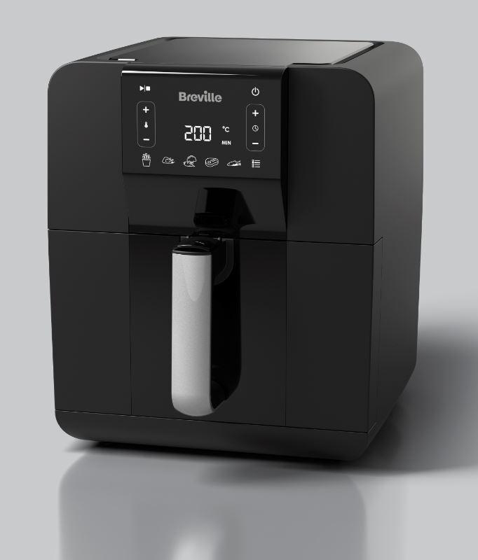 Breville Digital Air Fryer - Black - VDF126