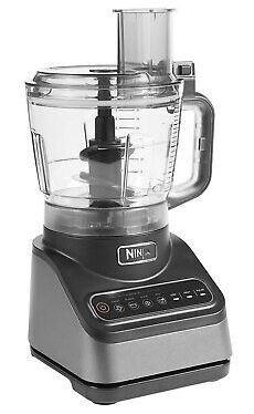 Ninja Food Processor with Auto-IQ - Silver - BN650UK