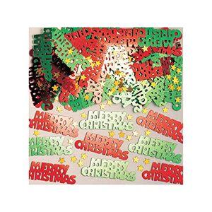 Amscan Merry Christmas Metallic Confetti, 14g