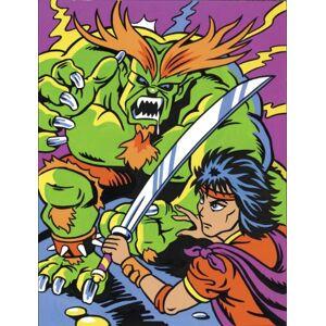 Reeves Manga Painting By Numbers - Monster