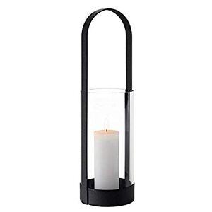 blomus Lantern, steel, glass, Black, H 53 cm, 15,5 cm