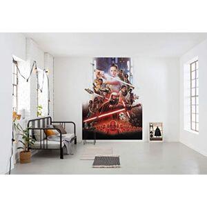 Komar 4-4113 Photo Wallpaper EP9 Movie Poster Size 184 x 254 cm (Width x Height), Rey, Jedi, Star Wars 9, Skywalker, Wall Decoration, Multi-Colour