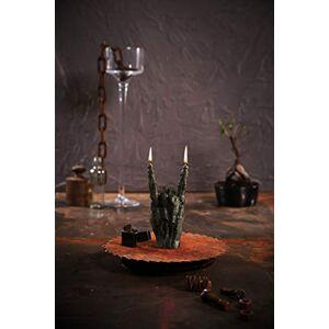 Candellana Black Zombie Hand RCK Gesture Candle
