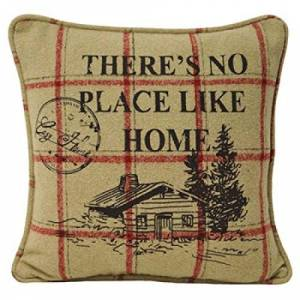 "Riva Paoletti ""Nordic Home"" Cushion Covers, Khaki, 45 x 45 cm"
