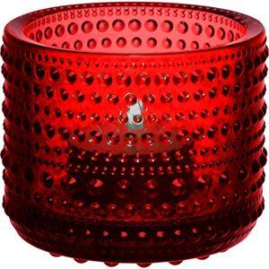 iittala Tea Light Holder, red, Neuer Farbton