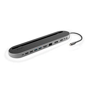 Hama 12-in-1 USB-C Docking Station for USB, HDMI, DP, LAN, SD, microSD, Jack