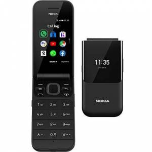 Nokia 2720 2.8 Inch 4G UK SIM-Free Feature Phone with Google Assistant (Single-SIM) - Black