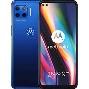 Motorola Moto G 5G Plus - Smartphone 128GB, 6GB RAM, Dual Sim, Blue