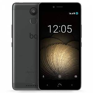 BQ Aquaris U Lite 3 GB RAM SIM-Free Smartphone - Black/Anthracite Grey