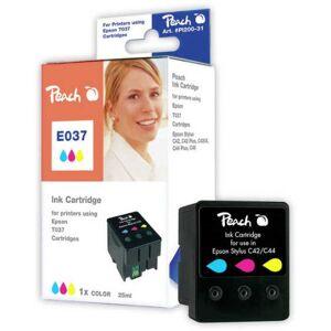Peach Ink Cartridge colour, compatible Epson T037