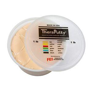 CanDo 10-0994 Thera Putty, Tan, 1lb