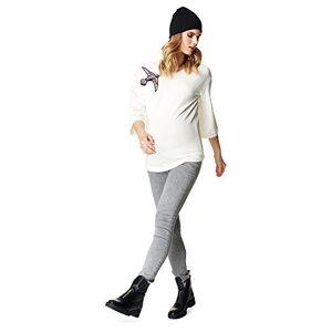 SUPERMOM Women's Maternity Damen Skinny Jeans Light Grey
