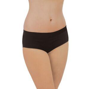4213 Carriwell Organic Comfort Panties (Extra Large, Black)