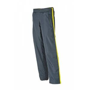 James & Nicholson Women's Laufhosen Ladies Sports Pants Maternity Trousers, Yellow (Iron Grey/Lemon), (Size: XX-Large)