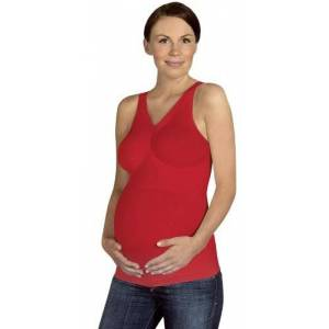 1022 Carriwell Maternity Light Support Cami Top (Large, Red)