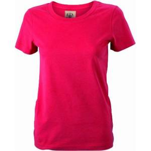 James & Nicholson Women's T-Shirt Ladies' Vintage Maternity, Red (red), (Size: X-Large)