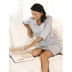 1812 Carriwell Sarah Nursing Sleep Shirt (XXL, Blue Melange)