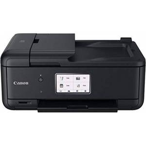 Canon Pixma TR8550 All-in-One Colour Inkjet Multifunction Device (Printer, Scanner, Copier, Fax, USB, Wi-Fi, LAN, Apple AirPrint) Black black Black a4