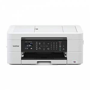 Brother MFC-J497DW Colour Inkjet Printer - All-in-One, Wireless/USB 2.0, Printer/Scanner/Copier/Fax Machine, 2 Sided Printing, A4 Printer, Small Office/Home Office Printer
