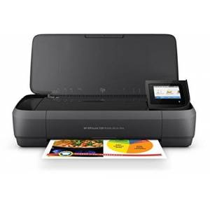 HP OfficeJet 250 Mobile Printer, Black/White