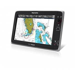 Raymarine e165 15.4-Inch Hybrid Touch Dual Display Marine GPS System Bundle with RS150 and STNG Starter Kit - Black