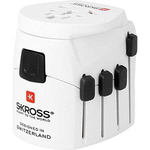 Skross PRO World Travel Adapter - White