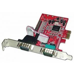 LINDY 2 Port RS-232 Serial & 1 Port Parallel Card PCI Express