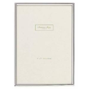 Addison Ross, Essentials Photo Frame, Silver Plate, 4 x 6 Inches