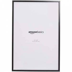 AmazonBasics Poster Photo Picture Frames - 61 x 91,4 cm, 2-Pack, Black
