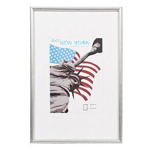 Dorr New York Photo Frame, Silver, 20 x 16-Inch