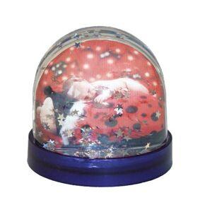 Dorr Christmas Snow Globe with Stars Photo Frame - Silver