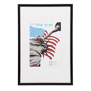 Dorr New York Photo Frame, Black, 16 x 16-Inch