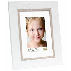 Deknudt Frames S45CF1 14x18 Photoframe white resin
