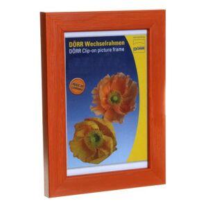 Dorr Hartmut 12x8 Wooden Photo Frame - Orange