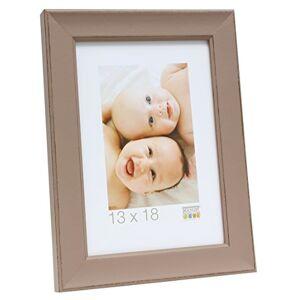Deknudt Taupe Wooden Photo Frame 24 x 30 cm