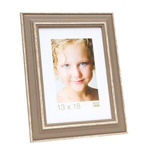 Deknudt Frames Picture Frame, Wood, Taupe, 35x 29x 1.5cm
