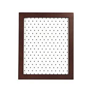 AmazonBasics Classic Wood Picture Frame - 20.3 x 25.4cm, Dark Walnut