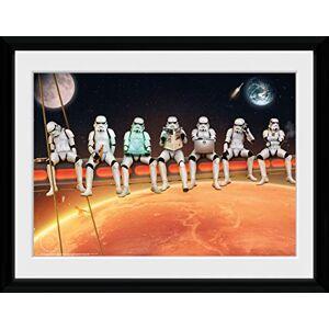 GB eye Ltd Framed Print, Multi-Colour, 30x40cm