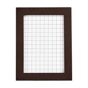 AmazonBasics Classic Wood Picture Frame - 12.7 x 17.8cm, Espresso