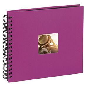 Hama 36 x 32 cm Fine Art Spiralbound Album 300 Photos Pink, 36 x 32cm