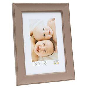 Deknudt Taupe Wooden Photo Frame 30 x 45 cm