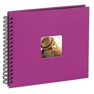 Hama Fine Art Photo Album 28 x 24cm 50 Pink w/Black Pages, 24 28 cm